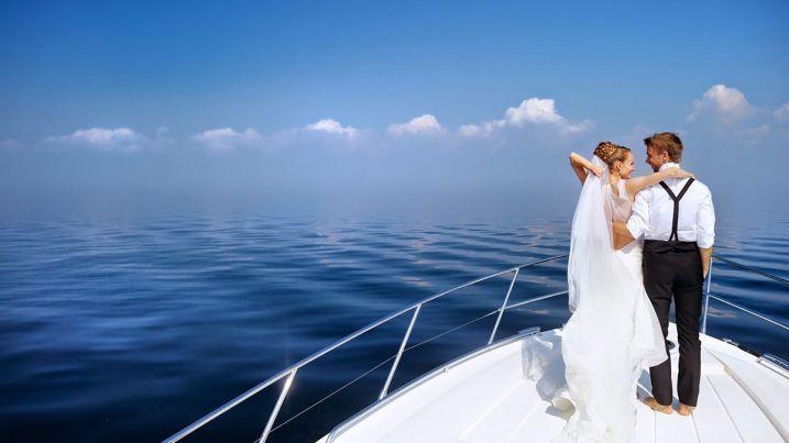 Минусы свадьбы на яхте