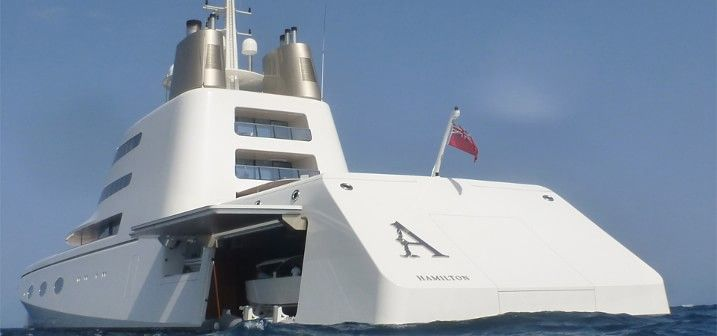 №4 Мегаяхта Superyacht A – 323 млн $