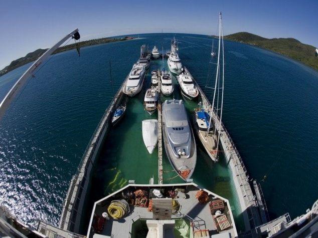 Доставка яхты Киев