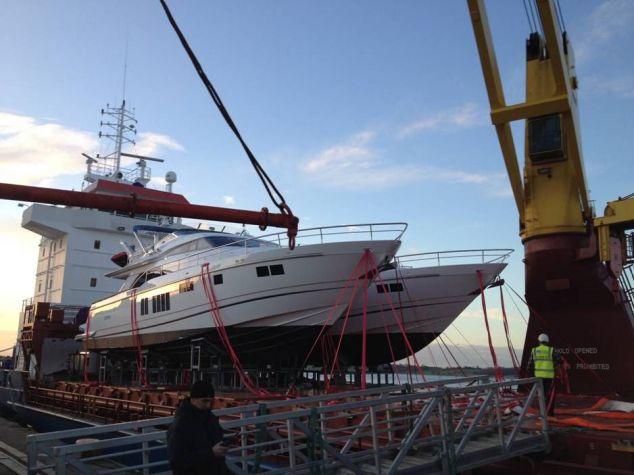 Доставим яхту Киев