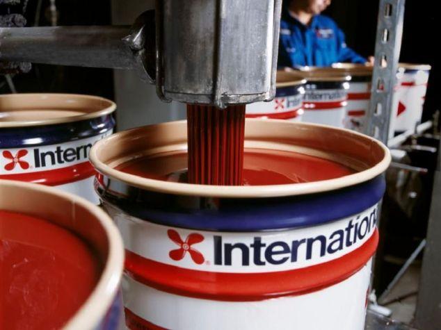 Необрастающая краска International
