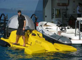 Субмарина для мега-яхты