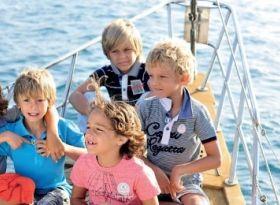 Детский праздник на яхте