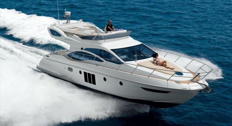Долгосрочная аренда моторной яхты Azimut 46