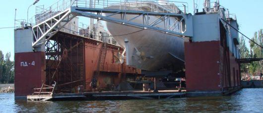 Моторная яхта 48 м